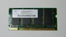 Nanya 256mb DDR-333MHZ-CL2.5 PC2700S-25330 SoDimm Ram