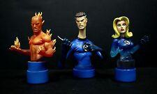 Bowen Designs Fantastic Four Triple Pack Mini Busts #4508 of 5000  Box NM