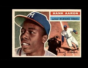 1956 TOPPS #31 HANK AARON BRAVES NM-MT+ to MINT