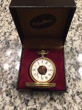 4b16e6d4f36 Vintage Dufonte Lucien Piccard Swiss 17 Jewels Pocket Watch! Original Box!