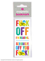 Brainbox Candy Reading rude novelty magnetic bookmark funny cheap present gift