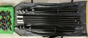 Limo Studio Green Screen Kit w Clamps and Frame Chromakey 6' x 9' Ft