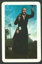 Estampa San Francisco Javier santino holy card image pieuse