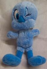 "WB Looney Tunes MINI SOFT BLUE TWEETY BIRD 4"" Plush STUFFED ANIMAL Toy"