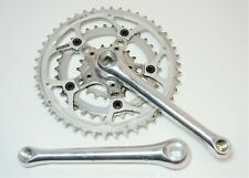 VINTAGE CQP PRO LITE 170 MM BICYCLE 48/34/20 TOOTH CRANKSET 110/56 MM BCD