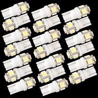 20X T10 5 LED 5050 SMD 168 194 W5W Bombilla Iluminacion Coche T5