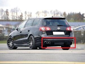 Fits VW Passat B6 3C Rear Diffuser Bumper Fiberglass Avant LipSpoiler Volkswagen