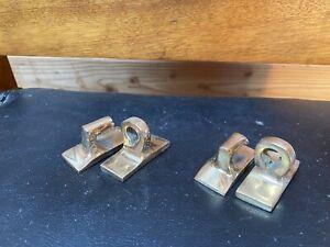 Antique Morris Chair Hinge PAIR Original Bronze Brass Hinges- Hardware
