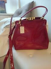 Lulu guinness Small Eva Bag Raspberry