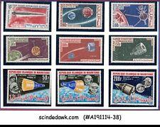 MAURITANIA - 1963-66 SPACE FLIGHT, TELECOMMUNICATION & SATELLITE - 9V - MNH