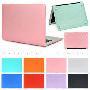 "Rubberized Matte Hard Case Cover For Apple MacBook Air Pro Retina 13.3"" 15.4"" 16"