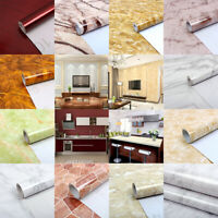 5m Fine Decor Marble Contact Paper Film Vinyl Self Adhesive Waterproof Wallpaper