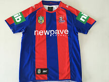 NEWCASTLE KNIGHTS NRL 2016 HOME JERSEY MENS MEDIUM M ONLY NEW