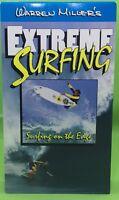 WARREN MILLER'S EXTREME SURFING: Surfing  On the Edge VHS 1992