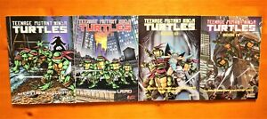 Teenage Mutant Ninja Turtles Graphic Novels 4 Volume Set I-IV by Eastman & Laird