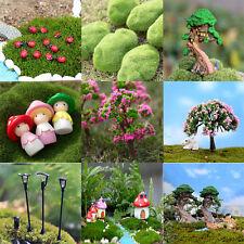 Hot Miniature Fairy Garden Ornament Decor Pot DIY Craft Accessories  Dollhouse