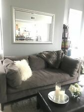 Living Room West Elm Sofa Chair