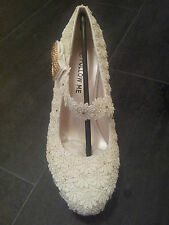 Mid Heel (1.5-3 in.) Unbranded Bridal Shoes