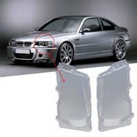 2 VITRE DE FEUX PHARE AVANT BMW SERIE 3 E46 BERLINE PHASE 2002-2005