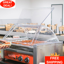 Avantco 18 Hot Dog Roller Clear Acrylic Plastic Grill Sneeze Guardcover Only