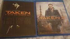 Taken 1 + 2 Blu-rays lot