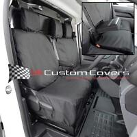 TOYOTA PROACE VAN TAILORED & WATERPROOF FRONT SEAT COVERS 2018+  BLACK 294