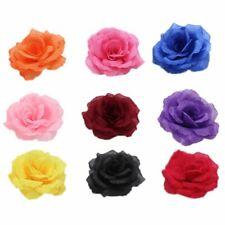 Silk Flower Heads Wall Pillar Wreath Craft Wedding Decors Artificial Roses Party