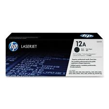 Original HP 12A Toner schwarz Q2612A zu LaserJet M1319F M1005 3055 3052 3050