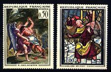 FRANCIA - Quadri di Francia - 1963 - Opere d'arte - Delacroix: Vetr. di Conches