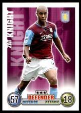 Match Attax 07/08 Zat Knight Aston Villa