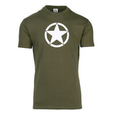 Airsoft tactical team bike outdoor  T shirt USA Army WWII White Star FOSTEX