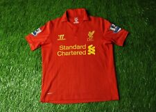 LIVERPOOL ENGLAND 2012/2013 FOOTBALL SHIRT JERSEY HOME WARRIOR ORIGINAL YOUNG M