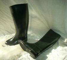 Bottes equitation cheval PVC taille 34 black NEUF