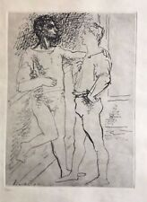 REDUCED! Pablo Picasso (After) Grace et Mouvement. Original Etching