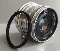 INDUSTAR-26m 2.8/52 mm M39 Leica Zorki FED Rangefinder Lens +adapter M42