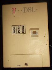 T .. DSL NTBBA Splitter +Anschlussdose Telefon+Kabel