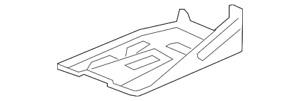Genuine GM Battery Tray 25826079