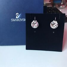 GENUINE Swarovski Crystal BELLA V Earrings - Swan Hallmarked - Superb