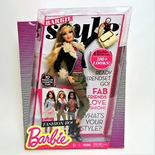 Barbie Style Wave 1 Doll Articulate Posable Rooted eyelashes Mint in worn box