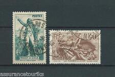 FRANCE - 1936 YT 314 à 315 - TIMBRES OBLITÉRÉS