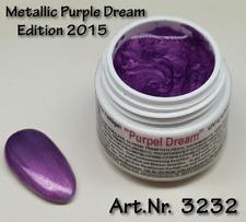 5 ml  UV Exclusiv Farbgel Edition 2015, Metallic Purple Dream, Nr. 3232