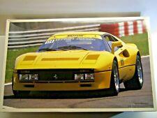 Fujimi Vintage 1/16 Scale Ferrari 288GTO Yellow Model Kit - Rare - New - # 10125