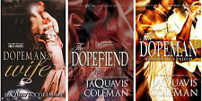 The DOPEMAN TRILOGY MASS MARKET PAPERBACK Set Books 1-3 by JaQuavis Coleman! New