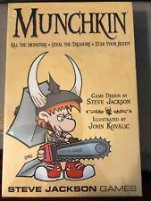 Munchkin Card Game Base Set Steve Jackson Games New & Sealed