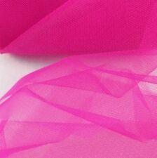 TULLE AL METRO COLOR CICLAMINO H 150CM tessuti decorazioni creazioni 012 150-035