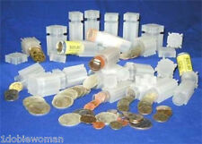 10 CoinSafe Square Coin Tubes- Your Choice of Sizes!
