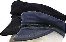 Classic New Marine Breton Braid Cap Greek Fisherman Yachtsman Traditional Hat