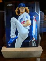 2020 Topps Chrome Dustin May Base RC Dodgers Rookie Card 176