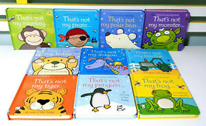 Lot of 10x Usborne Touchy-Feely That's Not My... Board Books by Fiona Watt!