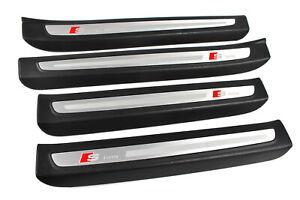 Originale Audi Q7 4L S-LINE Battitacco Ingresso Listelli Schwellerleiten Set